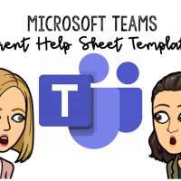 Microsoft Teams Parent Help Sheet Templates